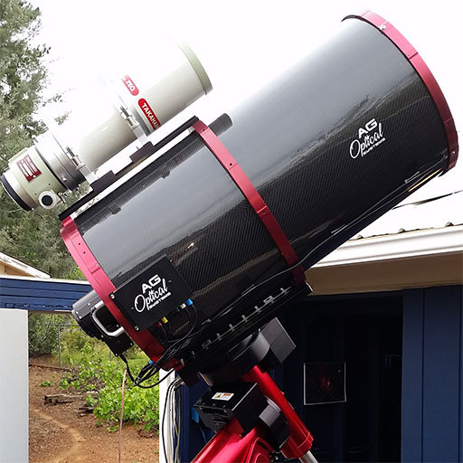 View all my observatory equipment