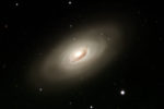 Black Eye Galaxy, named because of dust obscuring the nucleus. Taken from my backyard observatory with my C11 telescope.