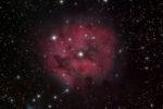 Iamge of the Cocoon nebula taken from my backyard observatory